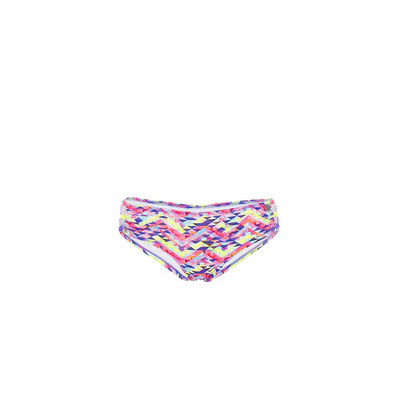 Teens -  Maillot de bain shorty rose Tetris (Bas)