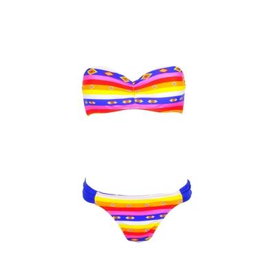 Ensemble 2 pièces bandeau multicolore Flash Mexico