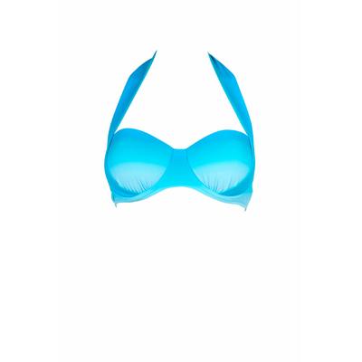 Haut de maillot bustier Miami dégradé bleu Seychelles