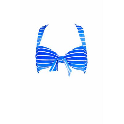 Haut de maillot Miami Stripe bleu rayé