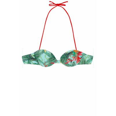Maillot de bain Luha à imprimé tropical multicolore (Haut)