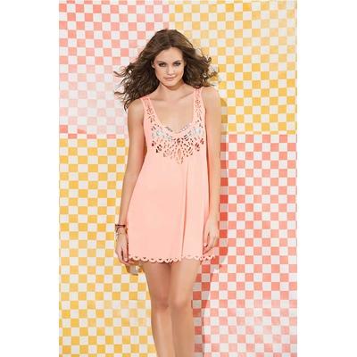 Robe de plage rose Persimmon Crown