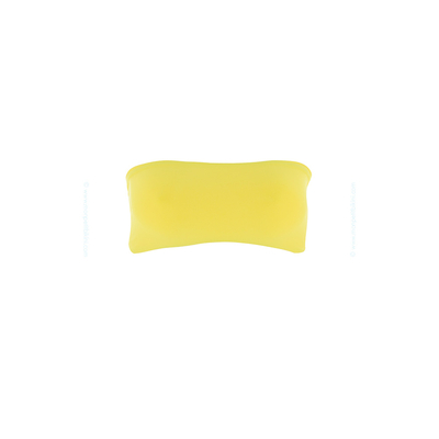 Maillot de bain bandeau jaune Byrdie (Haut)