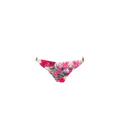 Bas de maillot de bain Lina multicolore imprimé fleuri