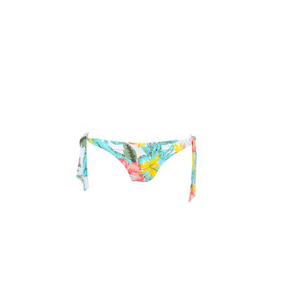 Bas de maillot Paradise Found bikini blanc