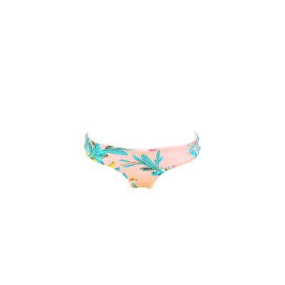 Bas de maillot de bain réversible Paradise Found rose corail