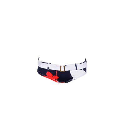 Morgan bas de maillot de bain - Shorty Kingston multicolore bleu marine