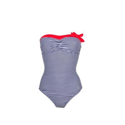 Maillot de bain 1 pièce Salina bleu marine