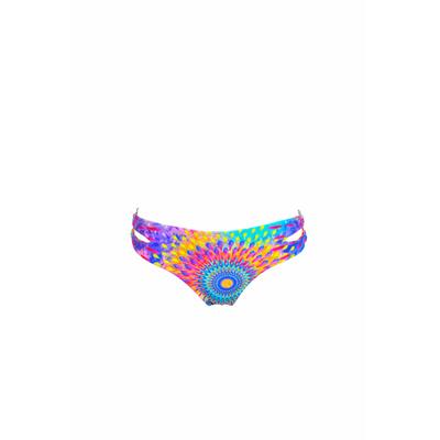 Maillot de bain culotte classique Bajo imprimé exotique (bas)