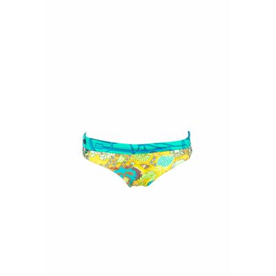 Maillot de bain culotte vert réversible Peplum (Bas)