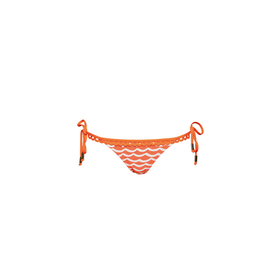 Maillot de bain orange Tidal Wave (bas)