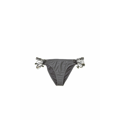 Bas de maillot bain gris Abby - Amenapih by Hipanema