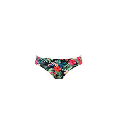 Bas de maillot de bain Aniseed imprimé fleuri noir (Bas)
