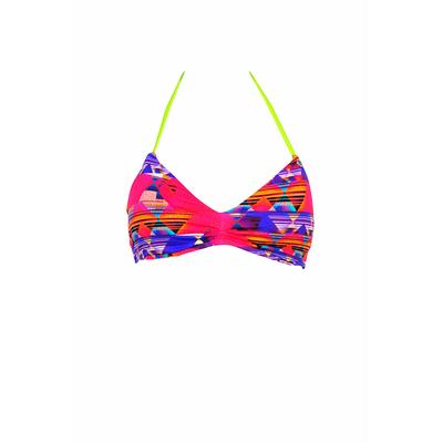 Maillot de bain triangle imprimé multicolore Daytona (Haut)