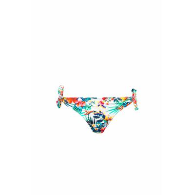 Bikini Lomawai imprimé fleuri blanc (Bas)