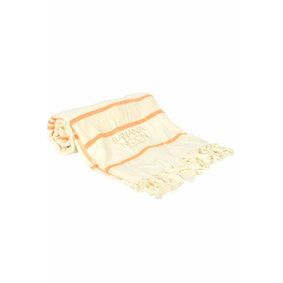 Fouta de plage orange Marbella