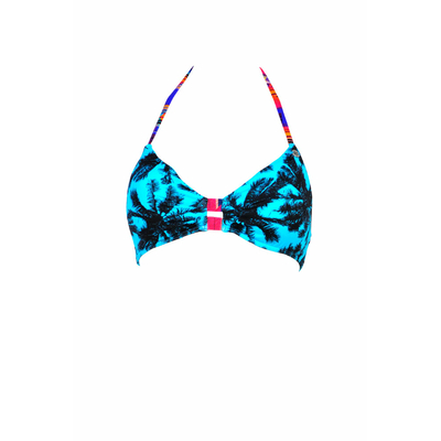 Maillot de bain triangle bleu Miami (haut)