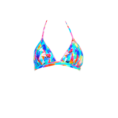 Teens - Maillot de bain triangle bleu Dreamcatcher (Haut)
