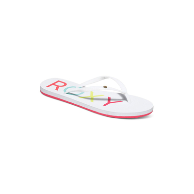 Tongs blanches Sandy pour femme