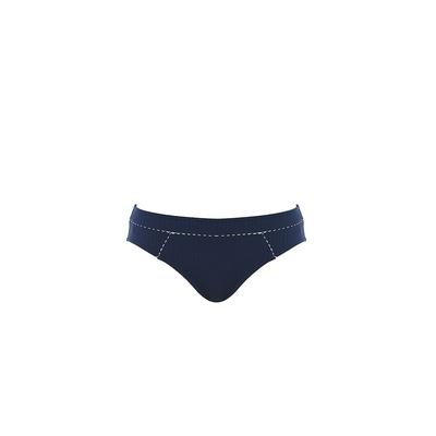 Maillot de bain culotte mi-haute bleu Absolutely Chic (bas)