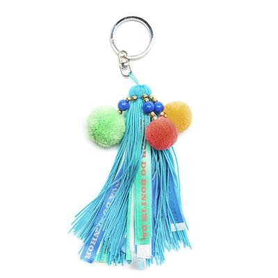 Porte clé Keys Bleu