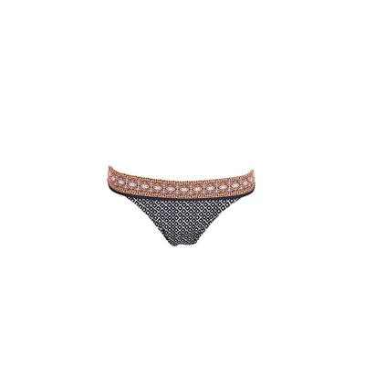 Maillot de bain culotte standard noire Corfou (bas)