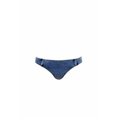 Maillot de bain culotte bleu denim Deja Blue (bas)