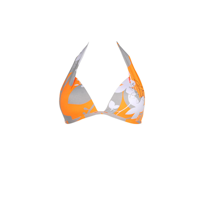Maillot de bain triangle orange Kingston (haut)