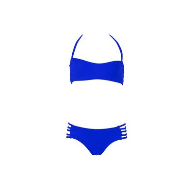 Mon Mini Teenie Bikini bleu roi - Maillot de bain fille 2 pièces