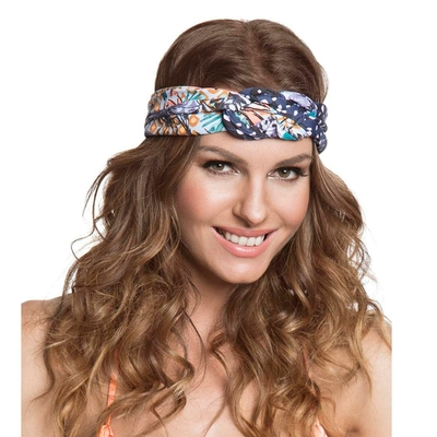 Headband bleu Floral Beach