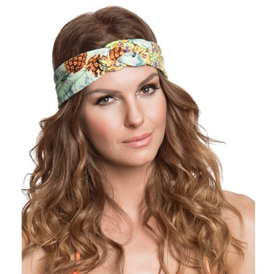 Headband vert Pineapple Beach