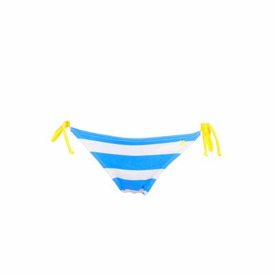 Maillot de bain culotte à nouer bleu azur Deerfield (Bas)