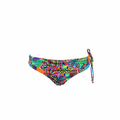 Maillot de bain culotte à revers multicolore Habanera (Bas)