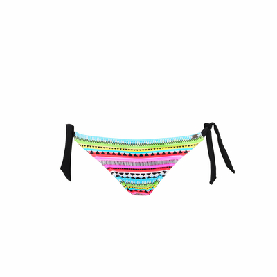 Maillot de bain culotte à noeuds multicolore Hanami (Bas)