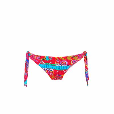 Maillot de bain culotte bikini rouge Kanahela (Bas)