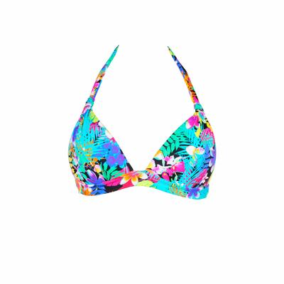 Maillot de bain triangle multicolore Maranhao (Haut)
