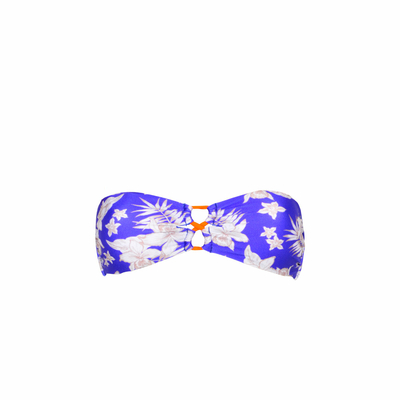 Teens - Maillot de bain bandeau bleu Laloha (Haut)