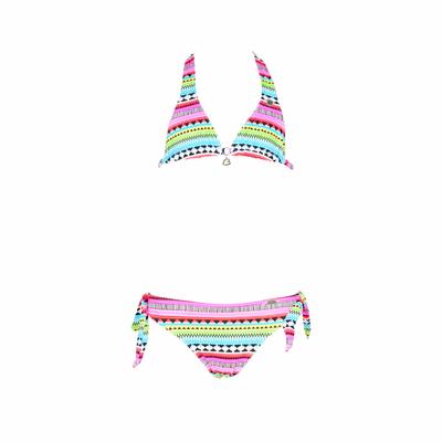 Maillot de bain fille 2 pièces multicolore Hanami