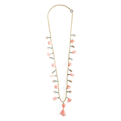 Collier rose Lila