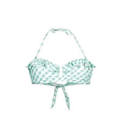 Maillot de bain bandeau vert BB (Haut)