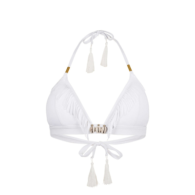 Maillot de bain triangle blanc Coryswim (Haut)