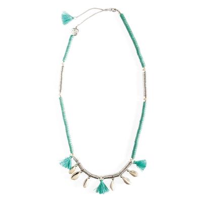 Collier bleu turquoise Lycia