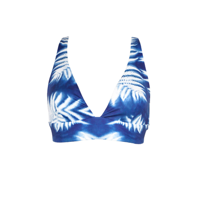 Maillot de bain triangle bleu West Wind (Haut)