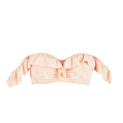Maillot de bain bandeau rose Lola (Haut)