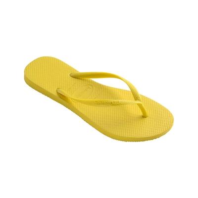 Tongs jaunes Slim