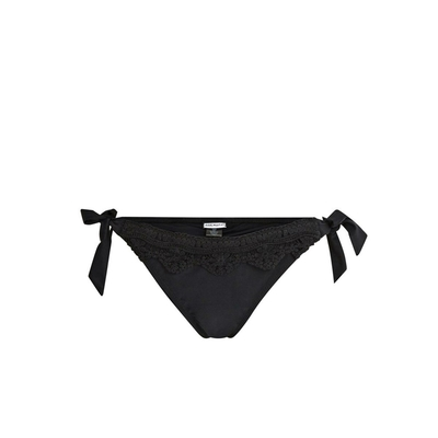 Maillot de bain culotte noire Laceswim (Bas)