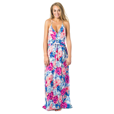 Robe de plage rose Pivoine Bloom