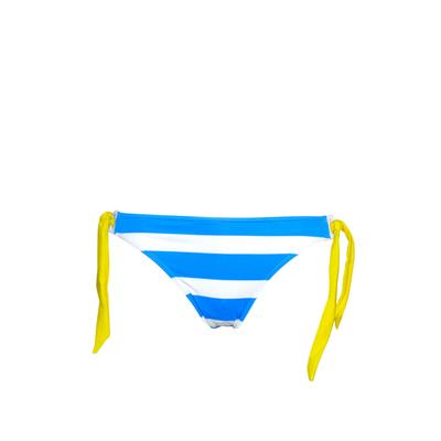 Maillot de bain culotte bleue azur à liens Deerfield (Bas)