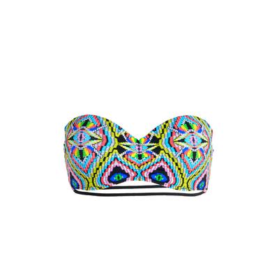 Mon Teenie Bikini multicolore bandeau multi-liens Tribal (Haut)