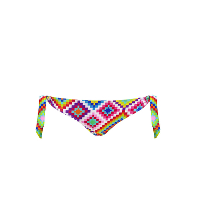 Maillot de bain culotte multicolore Summer Rhombus (Bas)